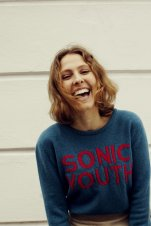 Hades, Sonic Youth seagreen pink jumper