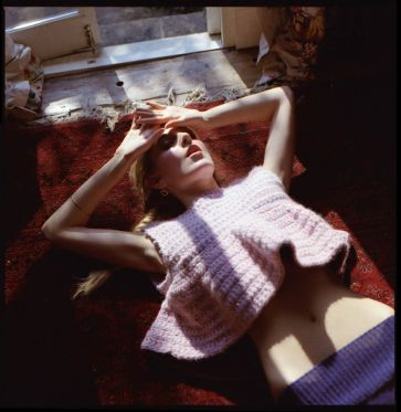 Stacie Clark, graduate collection, knitwear design 4