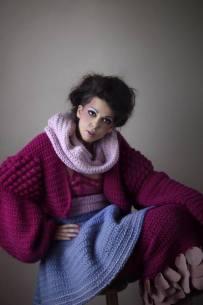 Stacie Clark, graduate collection, knitwear design